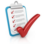 Property check list icon